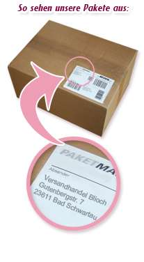 Diskreter Paketversand